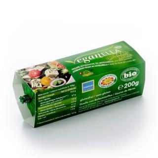 Veganella Basilikum (Mozzarella vegan)