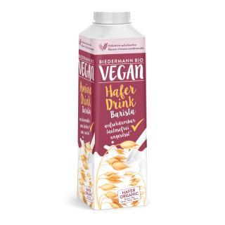 Vegan Hafer Drink barista (aufschäumbar)