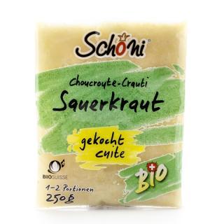 Sauerkraut gekocht