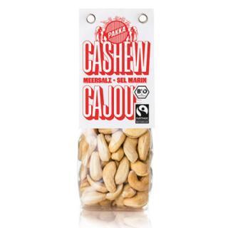 Cashew geröstet, mit Meersalz