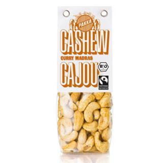 Cashew geröstet, mit Curry Madras