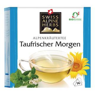 Tee Taufrischer Morgen 14x1g