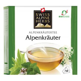 Tee Alpenkräuter 14x1g