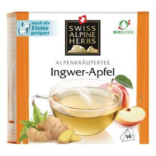 Tee Ingwer-Apfel 14x1g